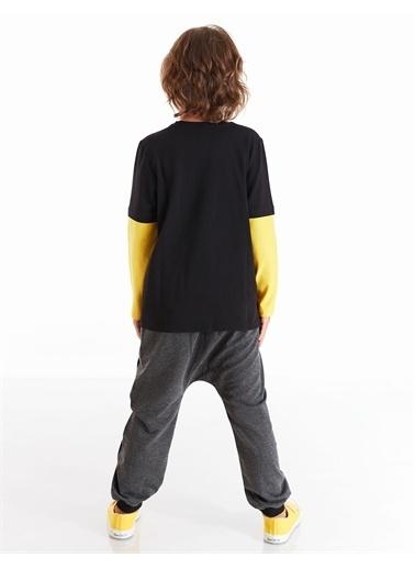 Mushi Loading Erkek Çocuk Pantolon Takım Sarı